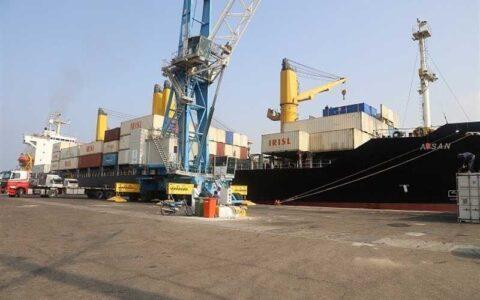 پهلوگیری ۷ فروند کشتی حامل کالای اساسی در بندر چابهار