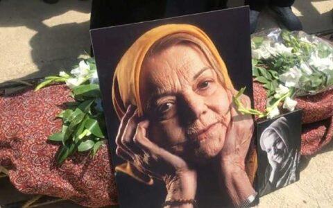 پیکر «صدیقه کیانفر» در بهشت زهرا(س) آرام گرفت/ همت: مادر مهربان رادیو را از دست دادیم