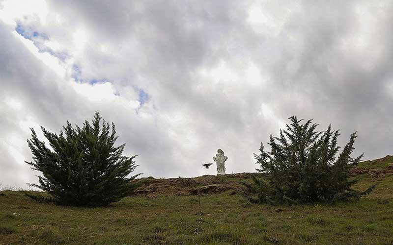 002 مجسمهساز کردستانی, بزرگترین تندیس, جنگ تحمیلی