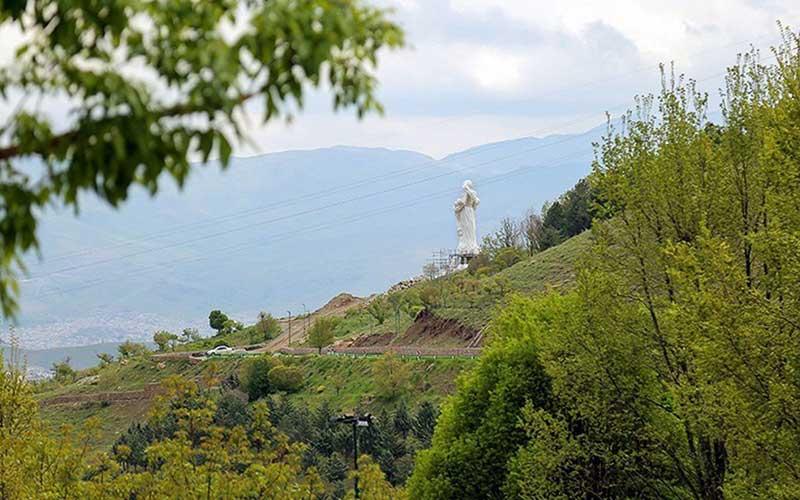 005 مجسمهساز کردستانی, بزرگترین تندیس, جنگ تحمیلی