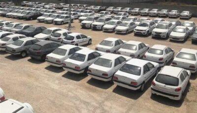 1183774 689 ۲ پارکینگ دیگر احتکار خودرو در تهران کشف شد