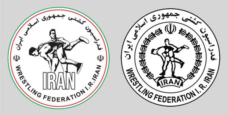 لوگوی جدید فدراسیون کشتی ایران رونمایی شد