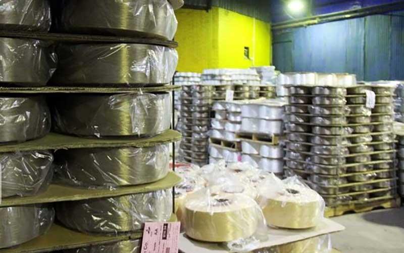 تولید نخ در قزوین /تصاویر