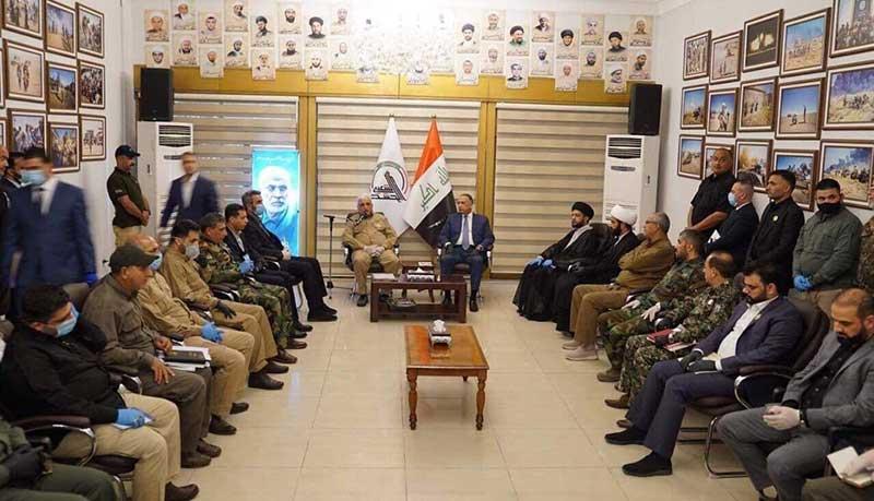 سنتشکنی نخست وزیر عراق /تصاویر