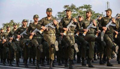 23232322 سربازی, نیروی انتظامی, کرونا