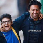 تصاویری احساسی از به آغوش کشیدن فرهاد مجیدی توسط توپجمعکن فقید استادیوم آزادی