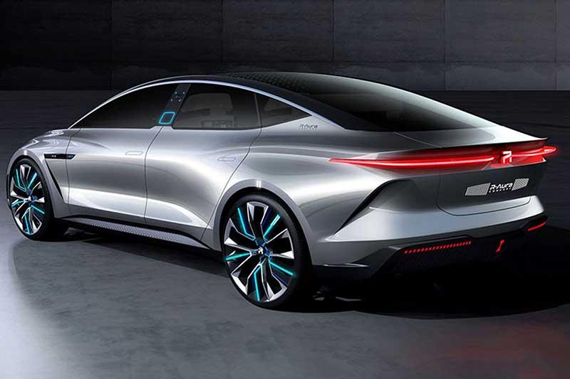 6001 خودروی مفهومی, خودروی الکتریکی
