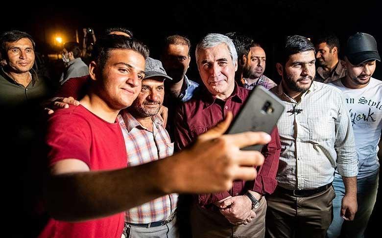اولین سینما تراکتور در ایران!/تصاویر