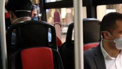 عرضه ماسک در ۶۰ پایانه و ایستگاه پرمسافر اتوبوس