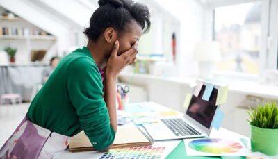 اضطراب و برخی از علائم جسمانی آن مشکلات گوارشی, اضطراب