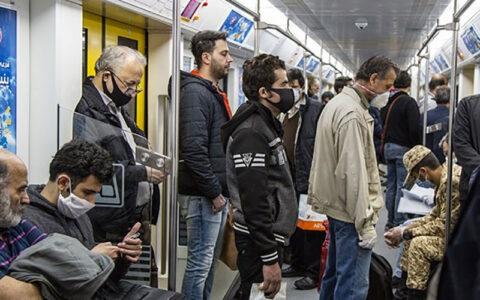 امکان رعایت فاصله گذاری اجتماعی و تبعیت از پروتکلها در مترو نیست شورای شهر تهران, مترو, فاصله گذاری اجتماعی