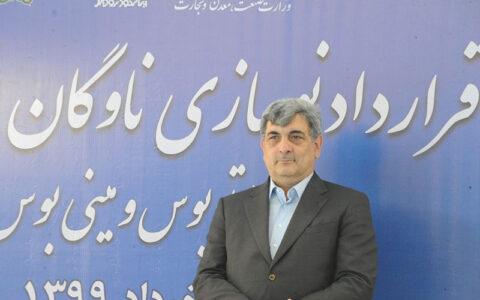 تحویل ۱۲۰ اتوبوس از ایران خودرو تا پایان سال