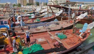 توقیف یک فروند کشتی صیادی «ترال» با ۳۲ تن انواع ماهی در «جاسک»