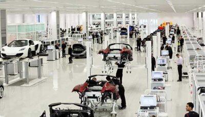 خط تولید اتومبیلهای مکلارن/فیلم