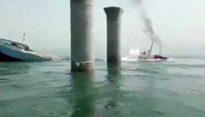 شناور ایرانی در آبهای عراق دچار سانحه شد
