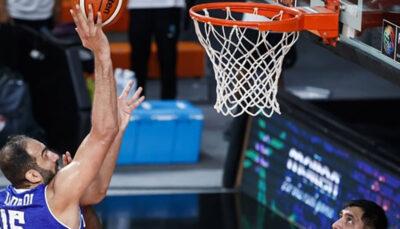 لیگ بسکتبال چین / دبل حدادی در روز پیروزی نانجینگ