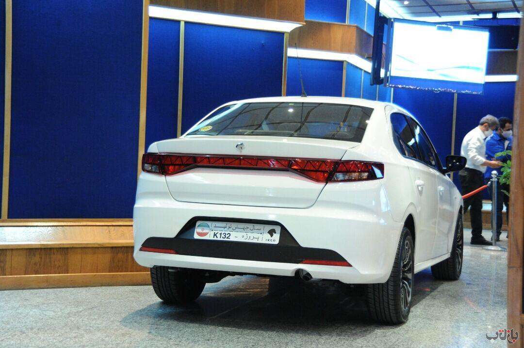 جدید ترین عکس از محصول جدید ایران خودرو