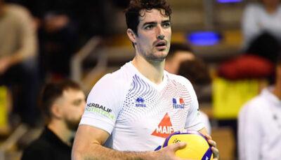 ملیپوش والیبال فرانسه راهی پلاسلیگا شد