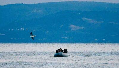 نجات مهاجران ایرانی و افغانستانی توسط گارد ساحلی یونان