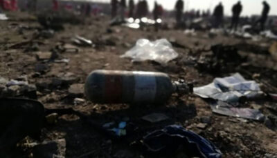 هواپیمای اوکراینی بر اثر برخورد با زمین منفجر شده است سانحه هواپیمای اوکراینی, سقوط هواپیما, نیروهای مسلح
