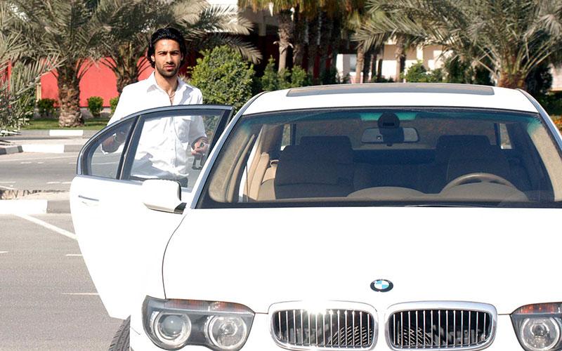 داستان «بیامو» و «بنتلی» گرانقیمت فرهاد مجیدی در دبی