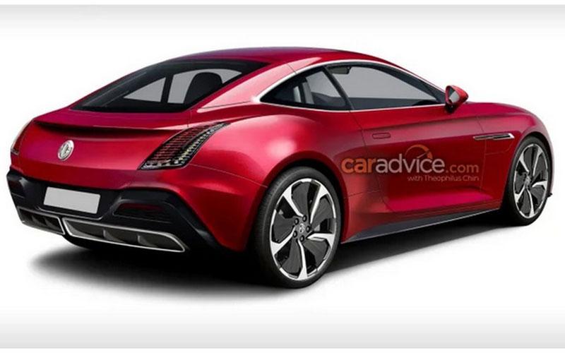 اولین تصویر از خودروی اسپورت جدید MG منتشر شد