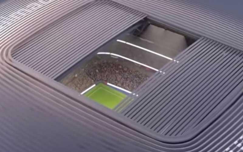 ورزشگاه سوپر مدرن رئال مادرید! /تصاویر
