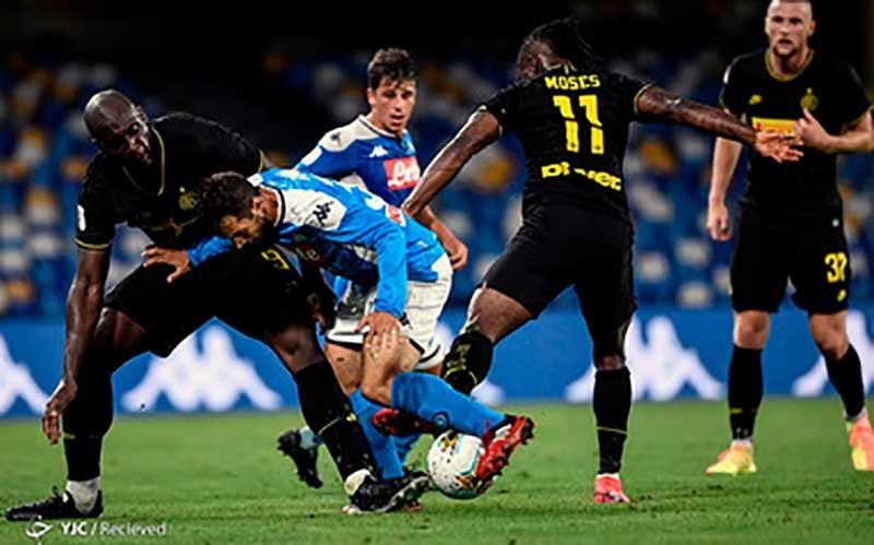 جام حذفی ایتالیا / ناپولی ۱- اینتر ۱