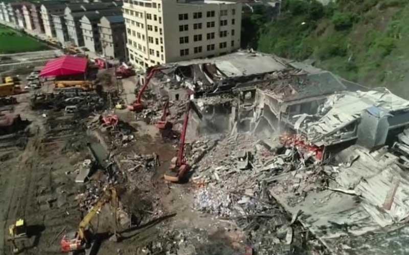 آخرین اخبار از انفجار مهیب تانکر گاز در چین/عکس