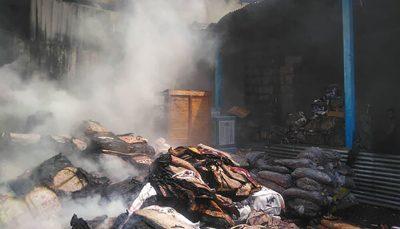 آتش سوزی گسترده در انبار کالا در خیابان فدائیان اسلام حادثه آتش سوزی, فدائیان اسلام
