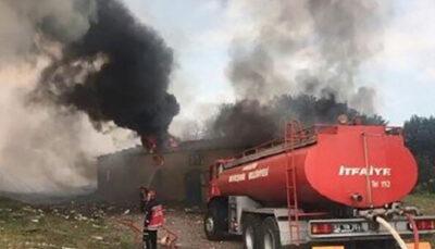 انفجار در کارخانه تولید وسایل آتش بازی در ترکیه