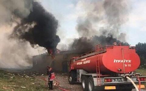 انفجار در کارخانه تولید وسایل آتش بازی در ترکیه کارخانه تولید وسایل آتش بازی, وقوع انفجار, ترکیه