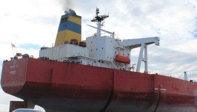 ایران نفتکشی را که توسط آمریکا توقیف شده بود پس گرفت / موقعیت جدید گلد اسکای بر اساس تصاویر ماهوارهای