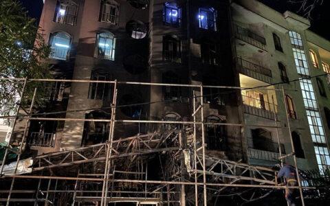 بازداشت ۹ زن و مرد در ارتباط با انفجار کلینیک سینا اطهر/ ۴ فرضیه مطرح در علت آتشسوزی