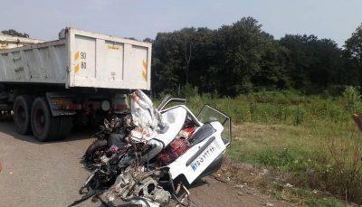 تصادف مرگبار در جاده سراوان - فومن/ 6 سرنشین پراید کشته شدند