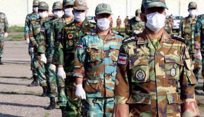 تکلیف سربازانی که حین خدمت به کرونا مبتلا میشوند آیا طول درمان به خدمتشان اضافه میشود؟ تعیین تکلیف سربازانی که حین خدمت به کرونا مبتلا میشوند / آیا طول درمان به خدمتشان اضافه میشود؟