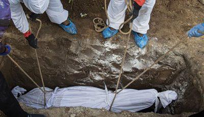 دفن ۲۳۴ فرد مبتلا به کرونا طی دو روز گذشته در بهشتزهرا(س)/ احتمال برپایی دوباره بیمارستانهای موقت
