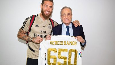 رکوردشکنی تاریخی کاپیتان رئال مادرید