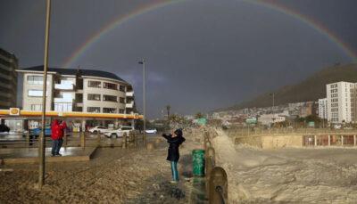 طوفانِ کف در آفریقای جنوبی! /تصاویر