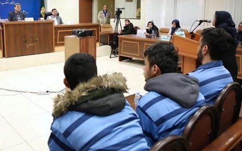 علت حقوقی توقف اعدام سه جوان حوادث آبان