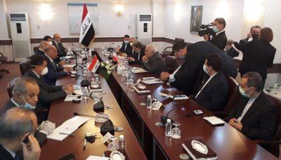 مذاکرات ظریف و همتای عراقی در بغداد محمد جواد ظریف, بغداد
