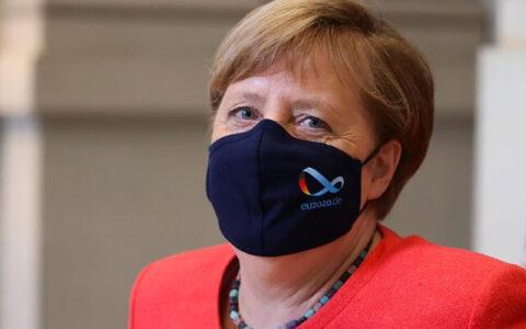 مرکل هم بالاخره ماسک زد اتحادیه اروپا, ماسک, مرکل