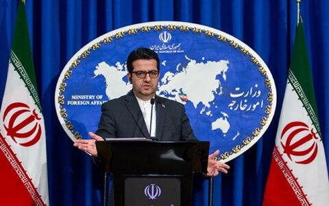 موسوی ادعای آمریکایی ها مبنی بر توقیف شناور ایرانی حامل سلاح به یمن را تکذیب کرد