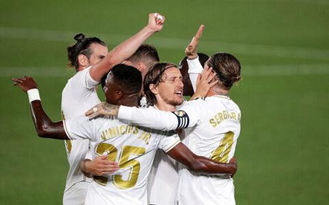 گام بلند رئال مادرید برای قهرمانی در لالیگا قهرمانی, رئال مادرید, لالیگا
