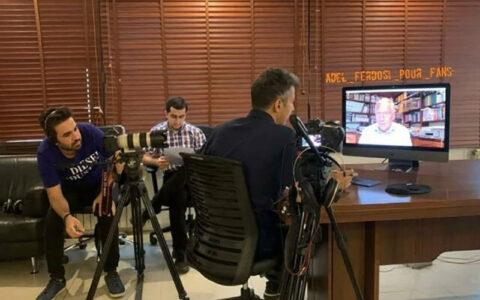 گفتوگو فردوسیپور با گزارشگر معروف انگلیسی عادل فردوسی پور, مارتین تایلر, قهرمانی لیورپول