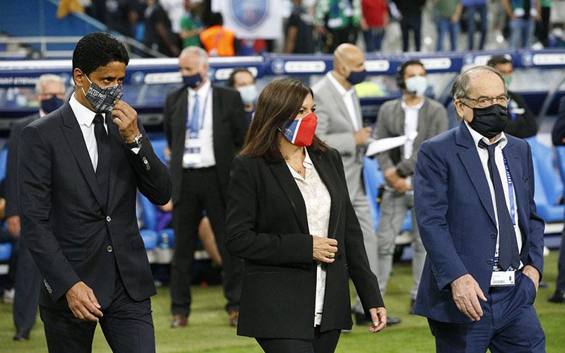 000 2 بازیکنان پیاسجی, ورزشگاه استادو فرانس, امانوئل مکرون