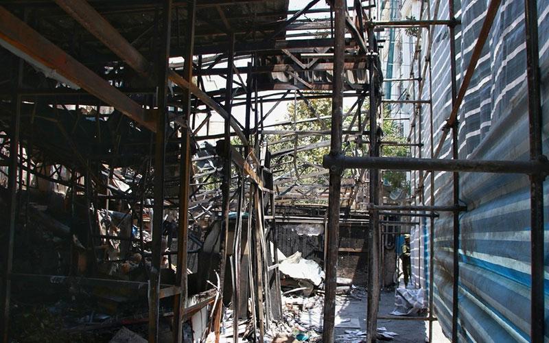 0016 کلینیک درمانی سینا اطهر, حادثه, آتش سوزی