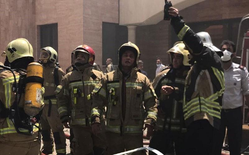 103 2 ستارخان, آتشسوزی, ادارات برق