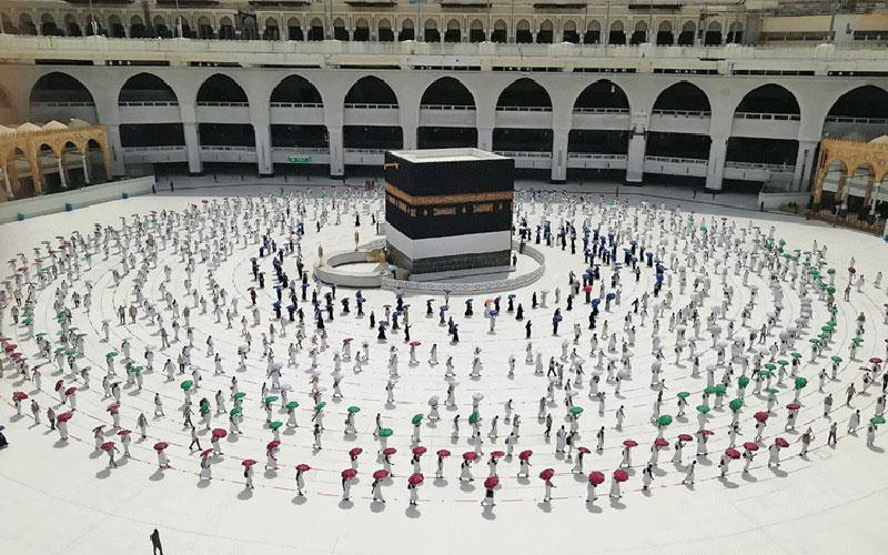 1200 1 مسجدالحرام, حج, زائران