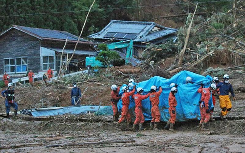 303 2 مناطق سیلزده, هواشناسی ژاپن